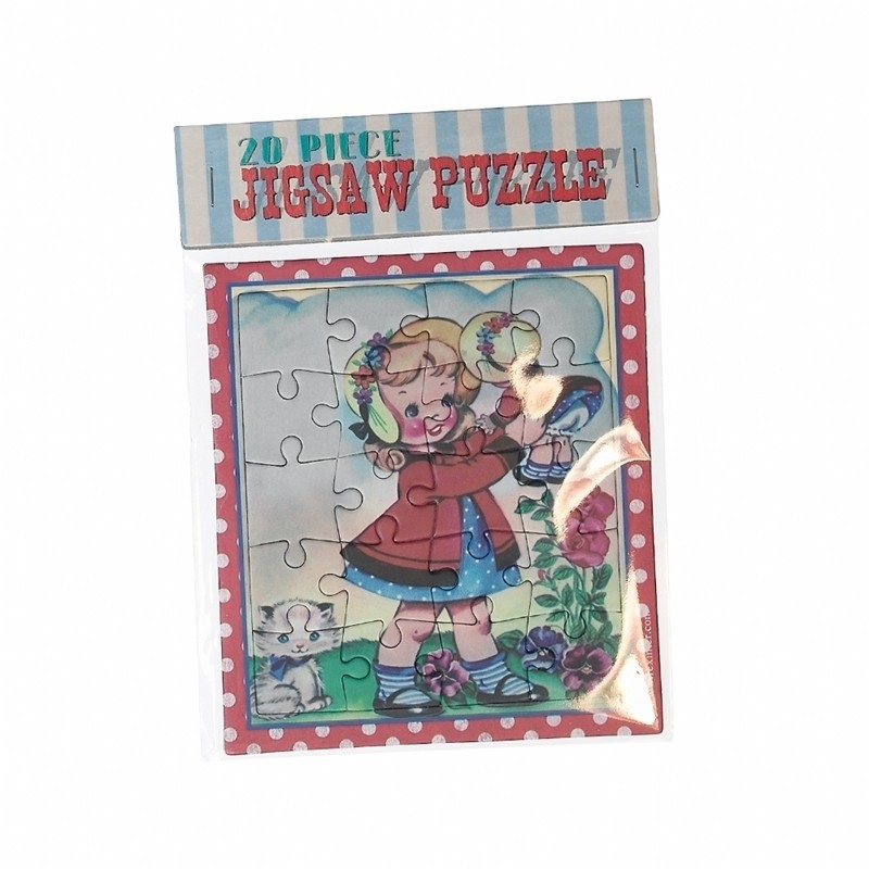 Puzzel Dolly Girl
