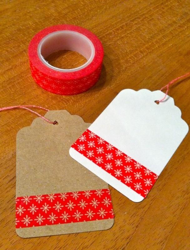 Washi Tape rood sterretje