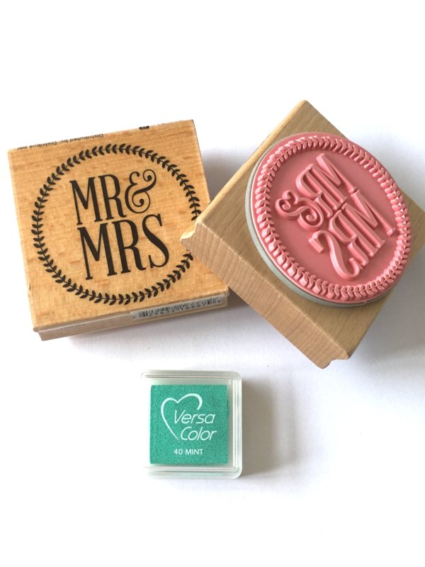 Stempel Mr & Mrs