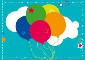 Ansichtkaart Ballonnen