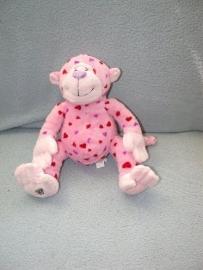 AJ-862  Ganz aap Love Monkey - 26 cm