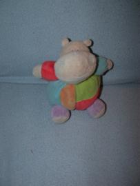KP-1161  Eddy Toys bol nijlpaardje - 16 cm