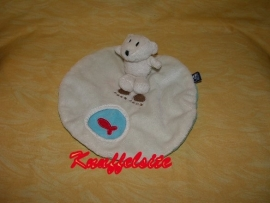 B-1009  Scratch kroeldoekje ijsbeer