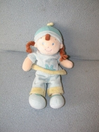 PS-1007  Mots d'Enfants meisjespop met kleertjes - 30 cm