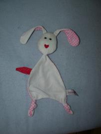 K-764  Prenatal kroeldoekje/speendoekje konijn