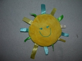 PS-991  Difrax labeldoekje Sunshine label