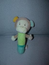 AJ-1133  Topolino / Ernstlings Family rammelaar aap - 18 cm