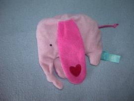 KP-1521  Lief! Lifestyle kroeldoekje olifant