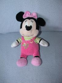 M-568  Nicotoy muis Minnie Mouse met kleertjes - 24 cm