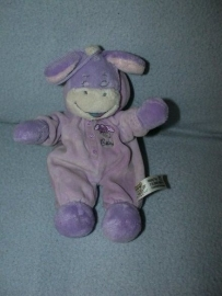 AJ-1106  Nicky Toy ezeltje met pyjama - 22 cm