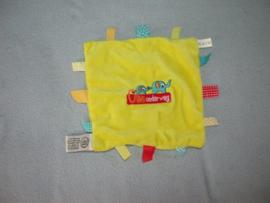 PS-1128  Kindwijzer / Kinderopvang labeldoekje Ollie Onderweg
