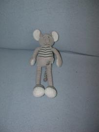 M-361  Babyfolly/Buromac muisje zonder korreltjes, zachte neus