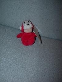 AJ-1036  Gloednieuw! Hema popje in apenpak - 10 cm