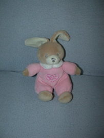K-329  Keel Toys konijntje `Baby`s first Bunny`