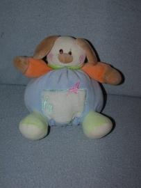 H-577  Onbekende bolle hond - 15 cm