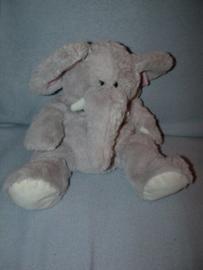 KP-1838  Hema handpop olifant met geluid - 25 cm