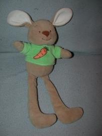 K-784  Comptine (Amtoys) konijn met truitje - 34 cm