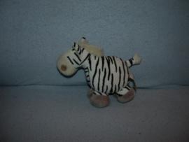 QZ-584  Tiamo zebra nr.1 - 15 x 16 cm