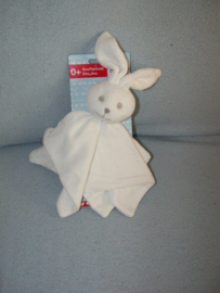 K-1175  Gloednieuw! Bambino kroeldoekje konijn, wit