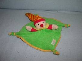 AJ-423  Simba Baby kroeldoekje clown