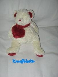 B-692  Dima/Dimpel beer met hartje - 20 cm