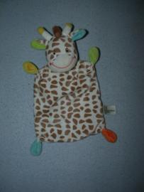 AJ-1329  Nicotoy kroeldoekje giraffe