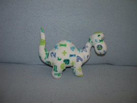 AJ-649  Anna Club Plush dinosaurus - 16 cm