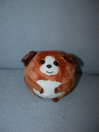 H-1040  Ty Beanie Ballz hondje Bandit - 11 cm