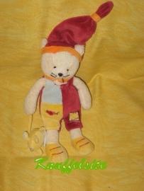 KP-809  Babynat/Baby Nat poes met muisje - 25 cm