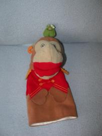 AJ-1248  Ikea handpop aap Klappar Cirkus - 24 cm