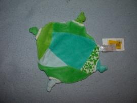 PS-625  Gloednieuw! Happy Horse kroeldoekje Blue Telly Turtle Tuttle 2007