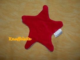 QZ-239  Kleine Helden ster, rood/grijs