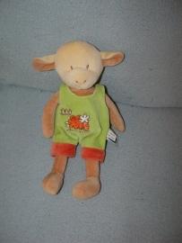 QZ-227  Mots d'enfants schaapje met kleren - alleen tuinbroek