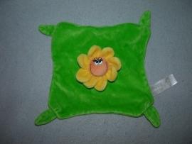 AJ-1090  Happy Horse/Verloskundigenpraktijk Bommelerwaard kroeldoekje bloem Happy Flower