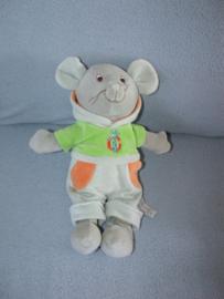 M-282  Anna Club Plush muis met kleren - 30 cm