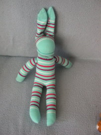 PS-1181  Onbekende Sok knuffel - 30 cm