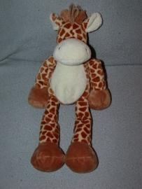 AJ-391  Hema giraffe, wollen manen - 30 cm