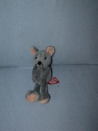M-363  Gloednieuw! Hema muis met magneetjes - 20 cm