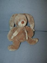 K-484  Nicotoy konijn met dasje nr.1 - 22 cm