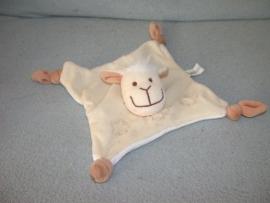 QZ-845  Hans Textiel/Baby Basics kroeldoekje schaap