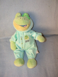 KP-1631  Fun Toys kikker met pyjama - 30 cm