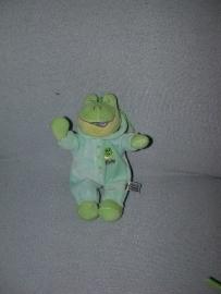 KP-1279  Nicky Toy kikker met pyjama - 21 cm