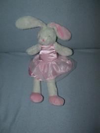 K-1272  Primark konijn/ballerina