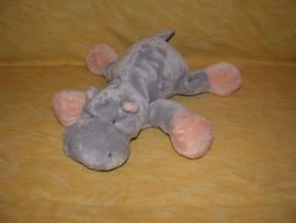 KP-378  Merkloos nijlpaard - 25 cm