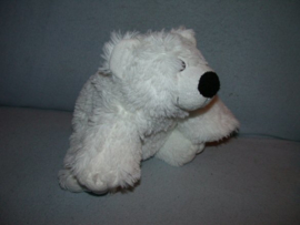 B-1614  Ostoy/Kika beer, geborduurde ogen - 29 cm