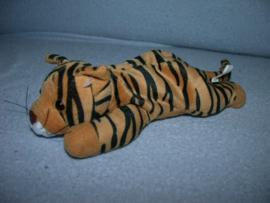 QZ-867  Happy Tails tijger - 22 cm