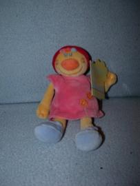 PS-1292  Gloednieuw! Nattou popje Babette - 20 cm