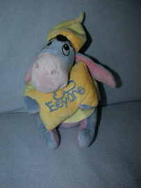 AJ-1238  Nicotoy/Simba/Dickie ezel Iejoor met pyjama en kussen - 20 cm