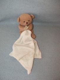 B-1523  Babynat/Baby Nat beertje met kroeldoekje