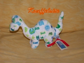 AJ-649  Gloednieuw! Anna Club Plush dinosaurus - 16 cm